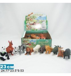 Дикие животные Гонконг A011/36P резин., 3,5-10