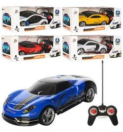 Машина 3700-61-2-3-4G (24шт) р/у,1:18,24см,3Dсветнебьющ.корп,рез.кол,4вид,на бат-ке,в кор,33-14-13с