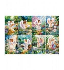 Пазлы Castorland 120 mini Ангелочки, 120 эл., 8 шт. в упаковке