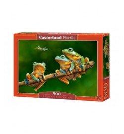 Пазлы Castorland 500 эл. Компания лягушек