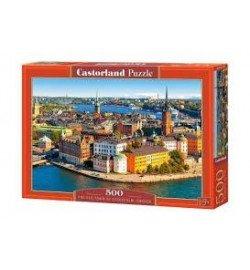 Пазлы Castorland 500 эл. Стокгольм, Швеция