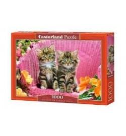 Пазлы Castorland 1000 эл. Котята