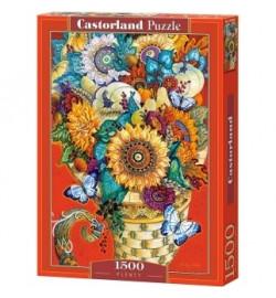 Пазлы Castorland 1500 эл. Живопись. Цветы