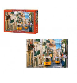 Пазлы Castorland 1000 эл. Лиссабонские трамваи, Португалия