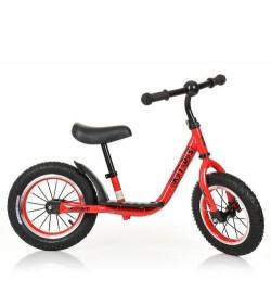 Беговел PROFI KIDS детский 12 д. M 4067A-1 (1шт) рез.колеса,метал.обод,выс.до сиденья 30-43см,красн