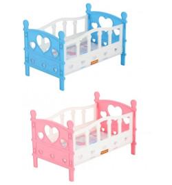 Ліжечко збірне для ляльок №2 (5 елементів) (у пакеті)