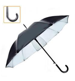 Зонт-трость полуавтомат мужской r55см 10сп 10537 (80шт)