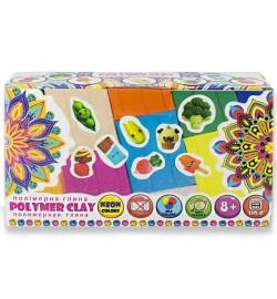 Набір полімерної глини для ліплення ТМ Poly Teens Colormix box