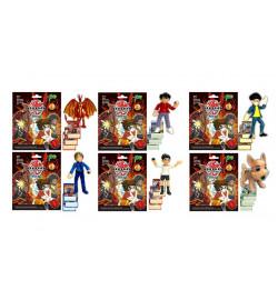 Герои 35301 (720шт/2)  1 герой+карточки в пакете, 6 видов