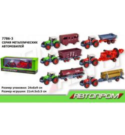 Трактор металл 7786-3 (72шт/2)