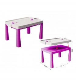 DOLONI-TOYS Стіл дитячий+комплект для гри 04580/3 стол
