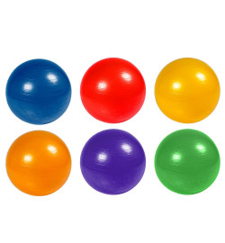 Мяч фитнес BT-SFB-0009 55см 600г 4цв./30/