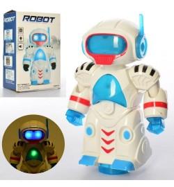 Робот FX2867 (48шт) 19см, муз, свет, ездит, на бат-ке, в кор-ке,14-20-8см