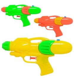 Водяной пистолет  M 5899 (200шт) размер маленький, 19см, 3цвета, в кульке, 11-19-3,5см