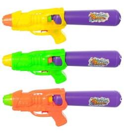 Водяной пистолет M 5938 (192шт) размер средний, 28см, 3цвета, в кульке, 28-11-4см
