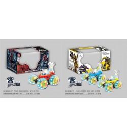 Р.У.Перевертыш 9808M-SP/TF Spiderman/Transformers аккум.муз.свет.вращ.на 360гр.2в.кор.29*16*17,5 /2