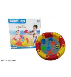 Игрушка-столик  041 (12шт)для игры в воде/песке, в кор. 34*15*20см