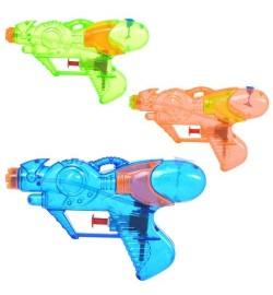 Водяной пистолет M 0869 U/R (192шт) размер маленький, 15,5см,3цвета, в кульке, 15-9см