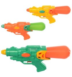 Водяной пистолет M 5936 (192шт) размер маленький, 25,5см, 3цвета, в кульке, 25,5-13-5см