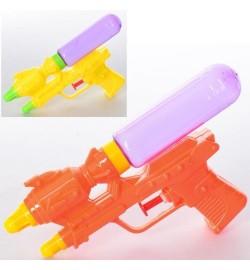 Водяной пистолет MR 0279 (192шт) размер маленький, 17,5см, 3цвета, в кульке,11-17,5-2,5см
