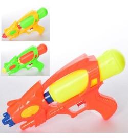 Водяной пистолет MR 0295 (120шт) размер средний, 27см, 3цвета, в кульке, 15-27-5,5см