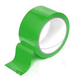 Скотч упаковочный зеленый 200м S-200G (36шт)