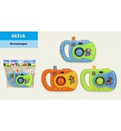 Фотоаппарат 6631A (1008шт/2) 3 цвета, в пакете 13,5*12 см, р-р игрушки – 10.5*2.5*7.5 см