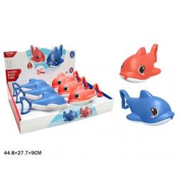 Набор для ванной HE8030 дельфин водяной пистолет 2цв.6шт.в кор.44,8*9*27,7 /24/144/