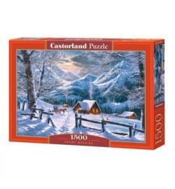 Пазлы Castorland 1500 эл. Снежное утро