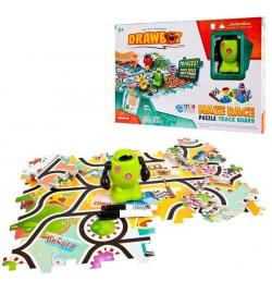 Индуктивная игрушка DB2-3 (24шт)робот,едет по нарис.линии, в коробке 35*24*8см
