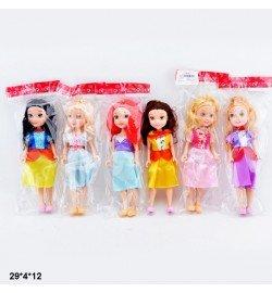 Кукла 18см 9601 принцессы 6в.кул.29*4*12 /240/